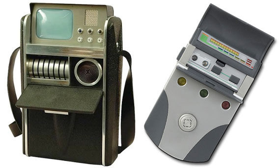 old new tricorder Exclusive Interview With The Man Behind Star Treks Props