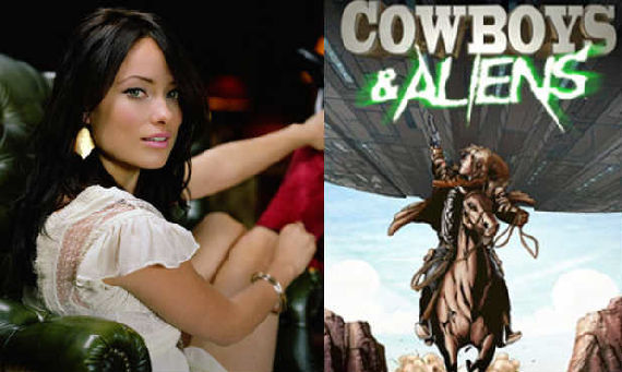 olivia wilde cowboys and aliens Olivia Wilde Joins Cowboys and Aliens