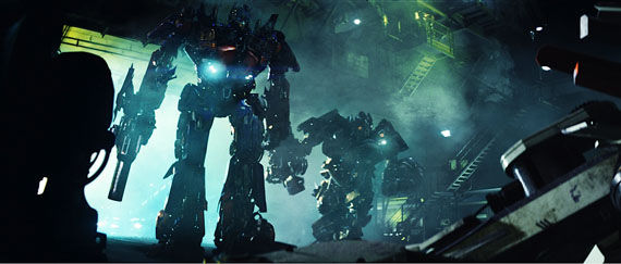 optimus and ironhide The Last New Transformers 2 Photos!