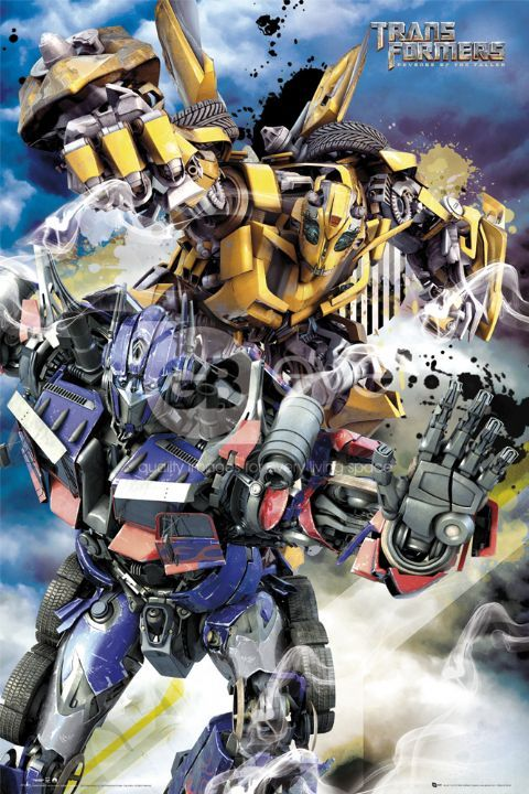 optimus prime and bumblebee New Transformers 2 Posters & Info