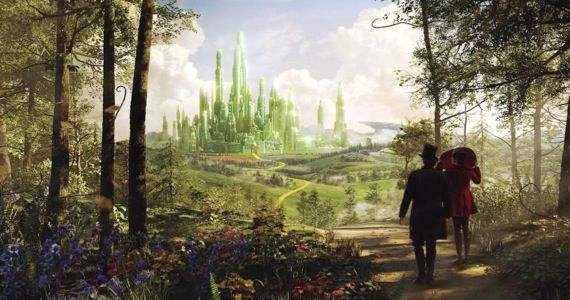 oz great powerful trailer No Dorothy in Oz the Great and Powerful Sequel; WB Developing New Oz TV Series