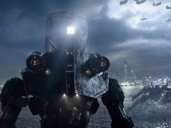 pacific rim jaeger 570x427 One of the Jaegers in Pacific Rim