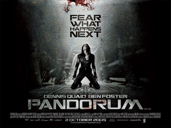 pandorum banner New Posters: Where The Wild Things Are, Michael Jackson & More!