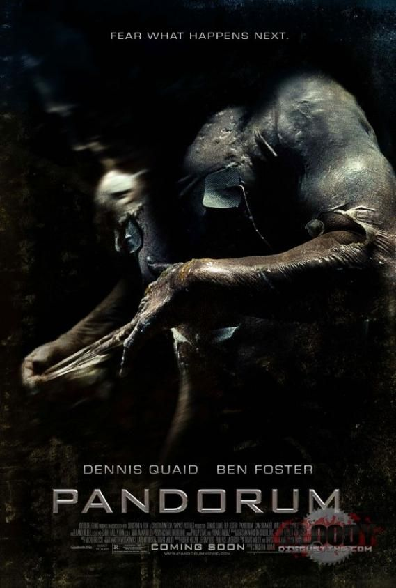 pandorum final poster New Posters: Surrogates, Pandorum, The Informant!