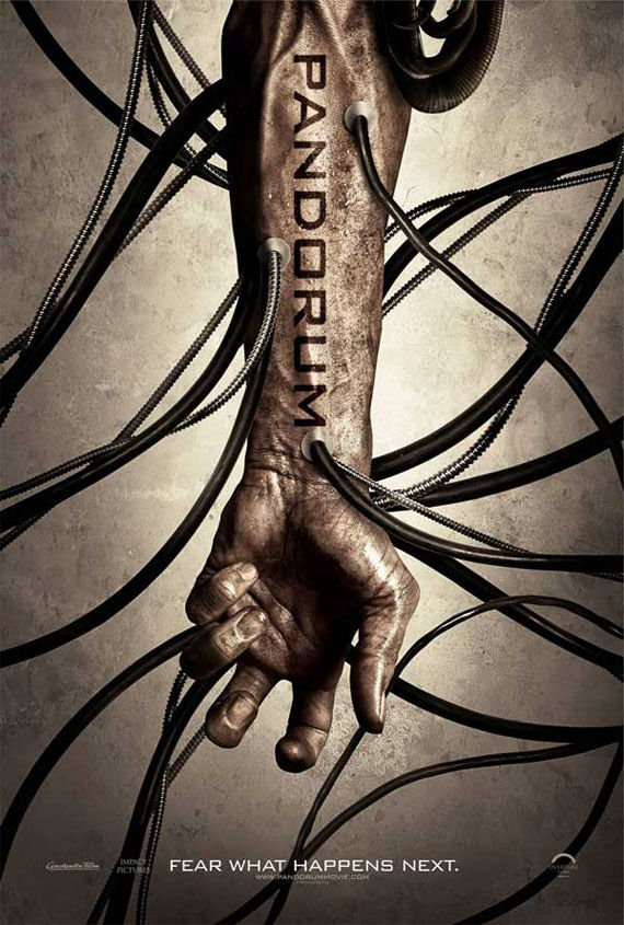 pandorum poster New Posters: Inglourious Basterds, Public Enemies, Transformers 2 & More!