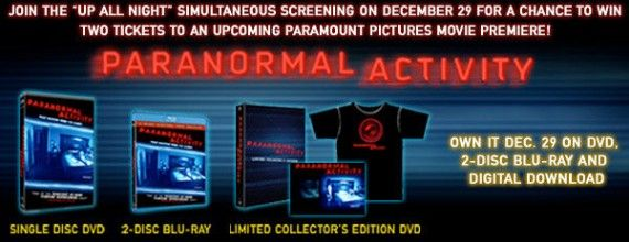 paranormal activity contest 570x220 Enter To Win In TWO Paranormal Activity Contests