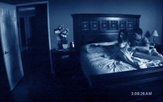 paranormal activity poster Paranormal Activity Review