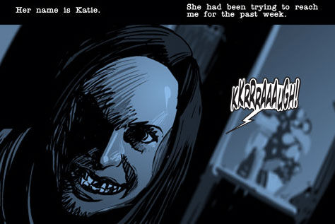 paranormal activity the search for katie Paranormal Activity Gets a Digital Comic Book [Updated]