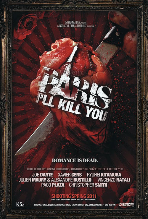 paris ill kill you poster Movie Media: Posters & Images Round up