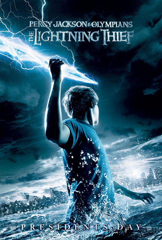 percy jackson the lightning thief poster Poster Friday: Smallville, Holmes, Fourth Kind, The Box & More!