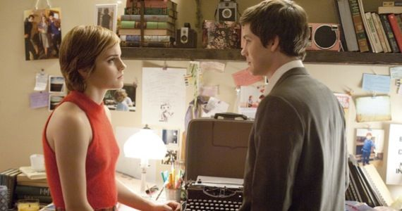 perks being wallflower emma watson Perks of Being a Wallflower Trailer: Hermione & Percy Jackson Go to High School