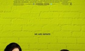 perks being wallflower poster 280x170 Perks of Being a Wallflower Trailer: Hermione & Percy Jackson Go to High School