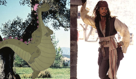 petes dragon jack sparrow Jon Favreau Talks Vision, Inspiration & Story for Magic Kingdom