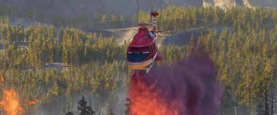planes fire rescue trailer 570x238 Rescue Helicopter in Planes: Fire & Rescue