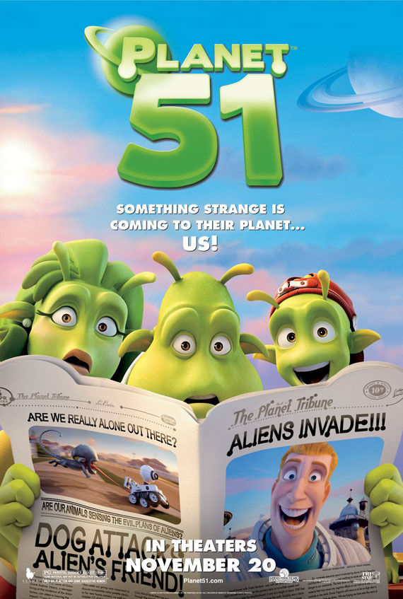 planet 51 fifty one poster Poster Friday: Moon, Tooth Fairy, Parnassus & More!