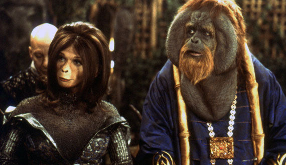 planet of the apes 2001 The Evolution of the Movie Ape