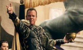 pompeii kiefer sutherland 280x170 Pompeii Trailer Offers Action, Romance and a 3D Volcano