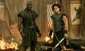 pompeii kit harington agbaje 280x170 Pompeii Trailer Offers Action, Romance and a 3D Volcano