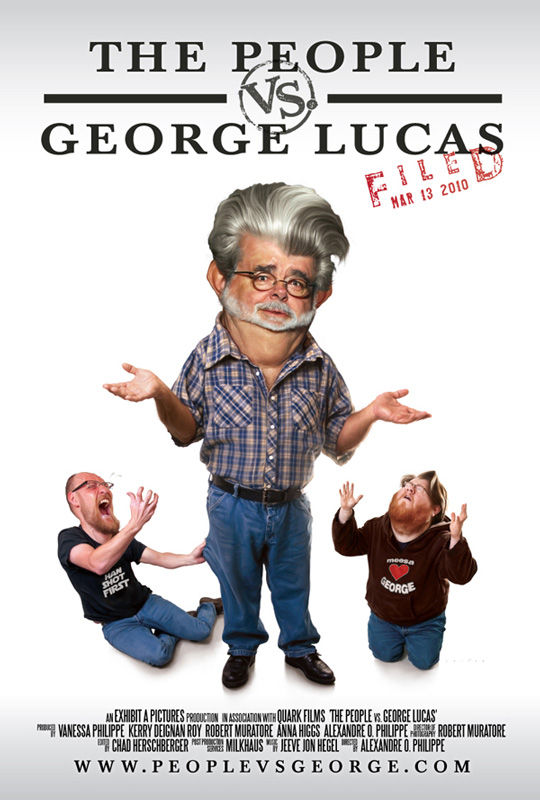 poster First Look: The People vs. George Lucas