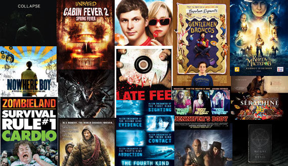posters fourth kind heavy metal the road zombieland jennifers body cabin fever 2 nowhere boy youth in revolt Poster Friday: Youth in Revolt, Invictus, Heavy Metal & More!