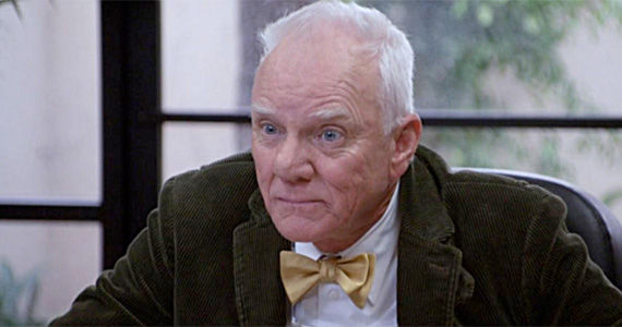 pound of flesh malcolm macdowell Community Season 4 Adds Malcolm McDowell as History Professor