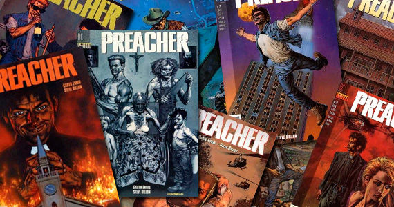 preacher comic book Rumor Patrol: D.J. Caruso Might Direct Preacher Movie [Updated]