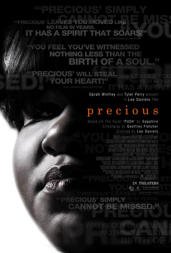 precious push poster Poster Friday: Avatar, Kick Ass, Lost, Salt & More!