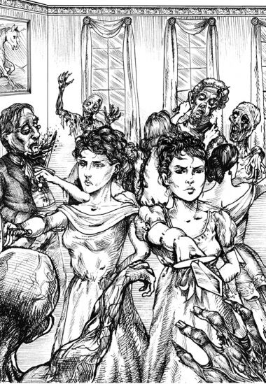 pride prejudice zombies drawing David O. Russell Quits Pride and Prejudice and Zombies