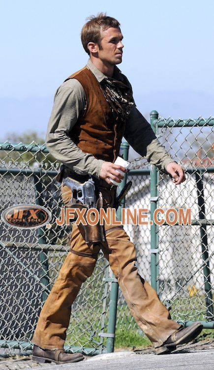 priest cam gigandet in costume Priest Updates: First Look At Characters & More!