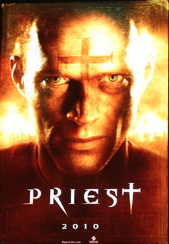 priest movie poster A Clip From Priest Starring Paul Bettany