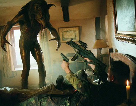 Kevin McKidd as Private Cooper from Dog Soldiers
