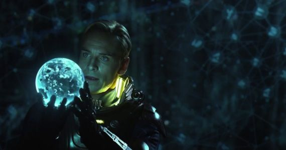 prometheus international trailer michael fassbender Prometheus Cast & Crew Break Down the Films Lofty Themes