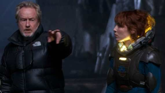prometheus ridley scott noomi rapace Ridley Scott Talks Prometheus Story & Sequel Plans