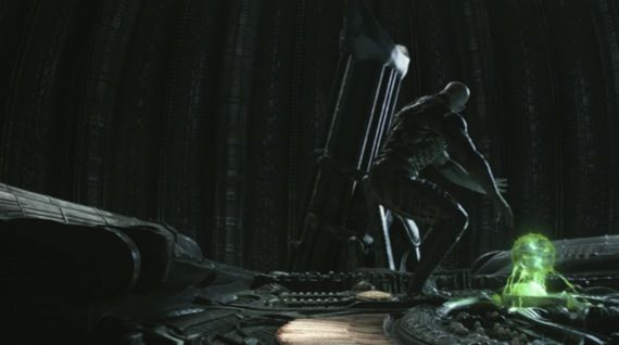 prometheus space jockey alien Prometheus   Alien Connection Explained