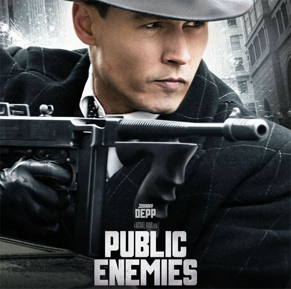 public enemies johnny depp New Public Enemies Featurette