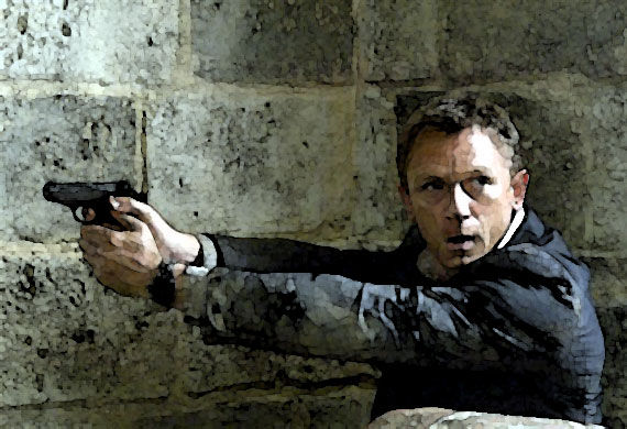 Daniel Craig in Quantum of Solace (review)