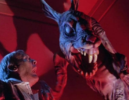 Devil Rabbit from Twilight Zone: The Movie - 10 Badass Rabbits (That Aren't the Easter Bunny)