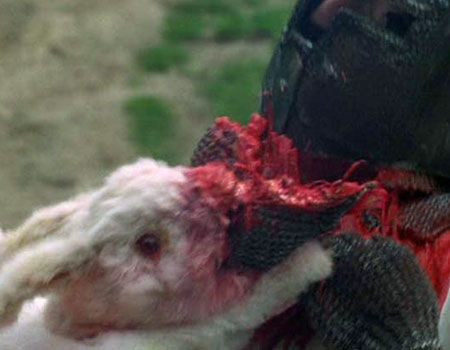 Rabbit of Caerbannog - 10 Badass Rabbits (That Aren't the Easter Bunny)
