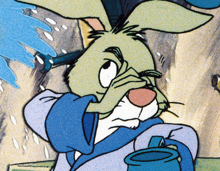 Rabbit from Winnie the Pooh - 10 Badass Rabbits (That Aren't the Easter Bunny)