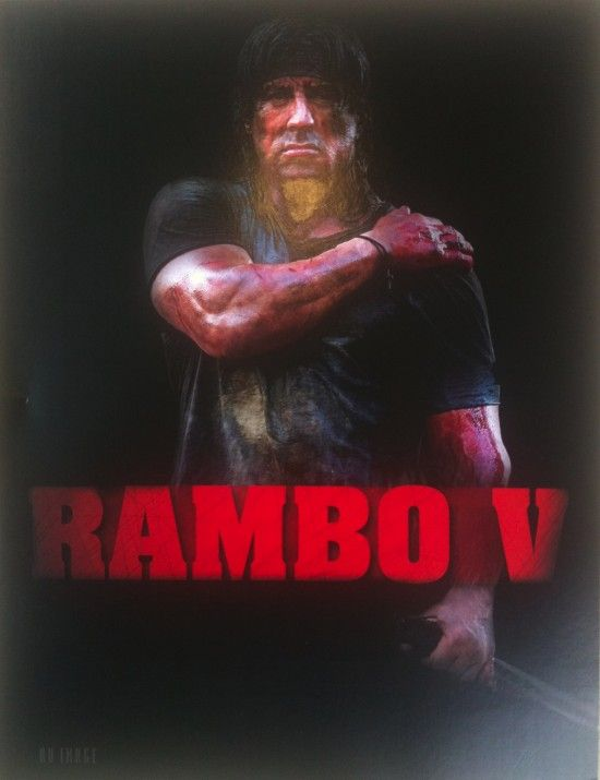 ramboposter at cannes Rambo 5 Without Stallone?