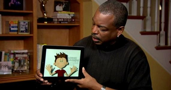 reading rainbow app LeVar Burton Launches Reading Rainbow Kickstarter, Reaches Goal in First Day