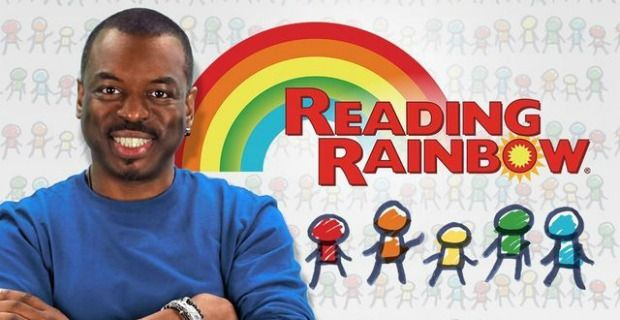 reading rainbow kickstarter LeVar Burton Launches Reading Rainbow Kickstarter, Reaches Goal in First Day