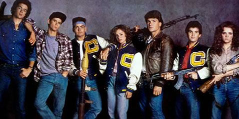 red dawn 1984 cast photo Red Dawn Image: Wolverines Ready to Battle Chinese Invaders