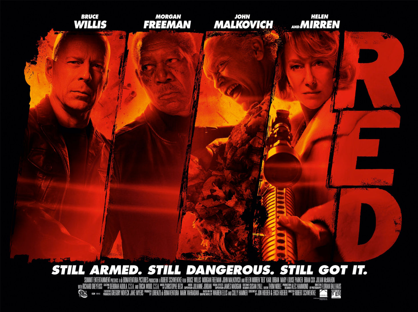 redposter New Red International Trailer, Poster & Image