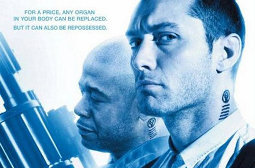 repo men movie posters jude law Repo Men Movie Posters