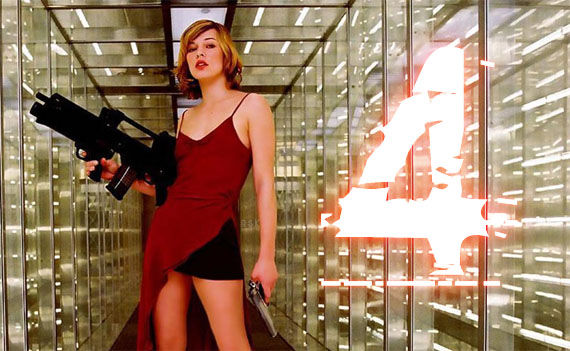 resident evil 4 afterlife milla jovovich Resident Evil 4 Adds Wentworth Miller & Begins Production
