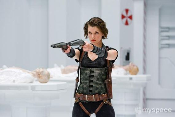 resident evil afterlife Milla Jovovich alice First Resident Evil: Afterlife Images Emerge!