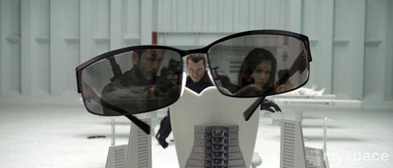 resident evil afterlife Wentworth Miller chris hadfield albert wesker First Resident Evil: Afterlife Images Emerge!