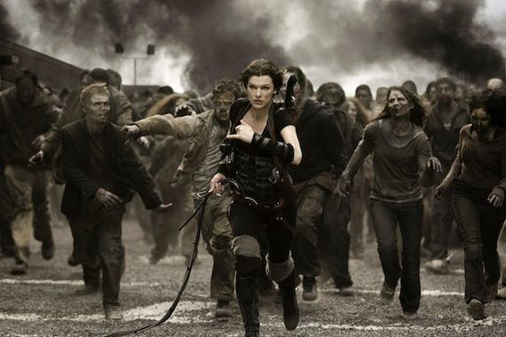 resident evil afterlife los angeles zombies Destruction: Los Angeles: The 5 Best L.A. Movie Disasters