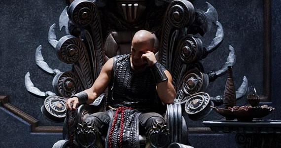 riddick image New Riddick Image Features a Brooding Vin Diesel on a Throne